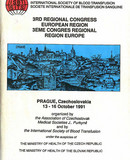 1991 - Congress - 2nd European (3rd Regional), Prague, Czech Republic